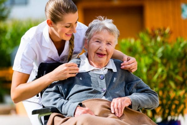 care taker for disabled person